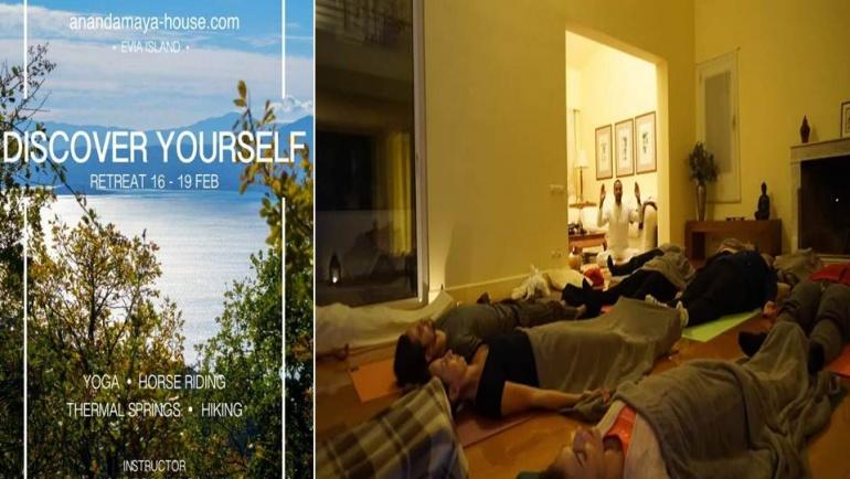 4 Days Yoga Retreat at Evia Island Greece 2016