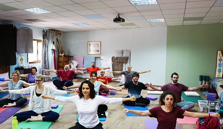 Cyprus-February 2018 Foundation Yogatherapy TTC